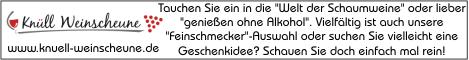 Banner Knüll-Weinscheune